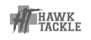 Hawk Tackle Homepage gray Logo