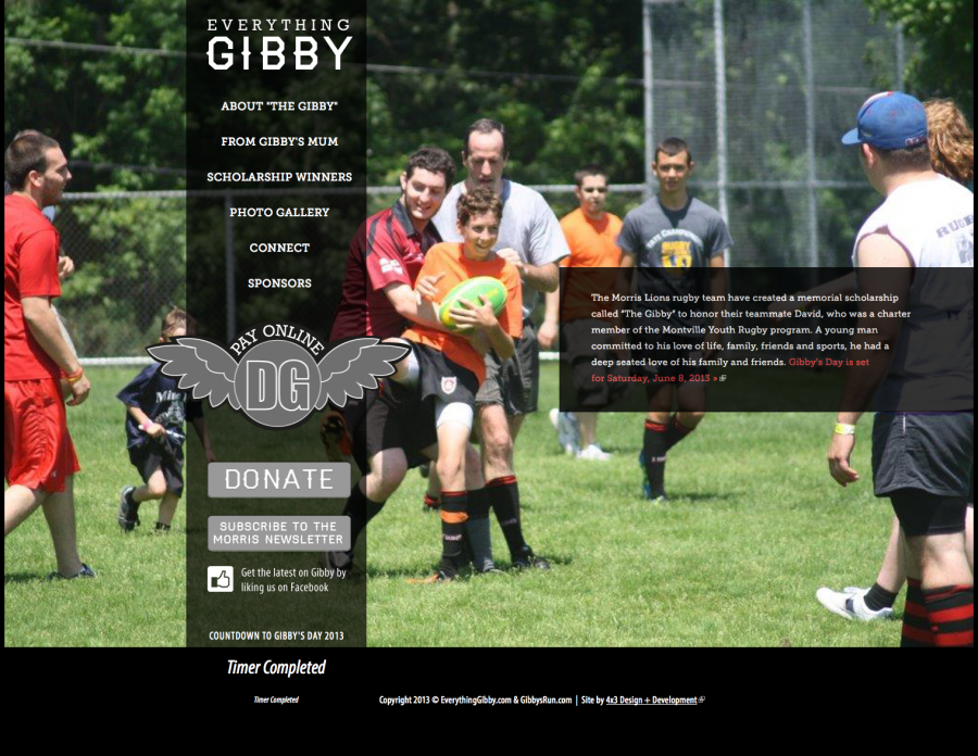 Everything Gibby Home Page
